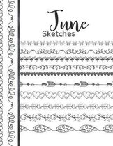 June Sketches: Astrology Sketchbook Activity Book Gift For Women & Girls - Daily Sketchpad To Draw And Sketch In As The Stars And Pla