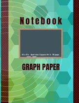 Notebook Graph Paper: Quad Ruled 5 Squares per Inch - Double Sided Sheets - (110 Grid Ruled Pages)- Composition Book -Great for Math and Eng