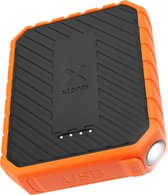 Xtorm Rugged Power Bank - 10 000 mAh - Zwart/Oranje