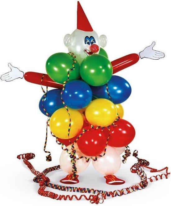Amscan Decoratieset Clown Met Ballonnen Latex/papier