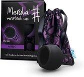 Merula menstruatie cup incl Merula lube - midnight zwart