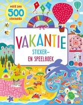 Omslag Vakantie sticker- en speelboek