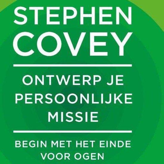 Boek cover Ontwerp je persoonlijke missie van Stephen R. Covey (Onbekend)