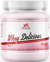 XXL Nutrition Whey Delicious - Proteïne Poeder / Proteïne Shake - Aardbei 450 gram