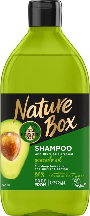 Nature Box Avocado Shampoo 6x 385 ml - Voordeelverpakking