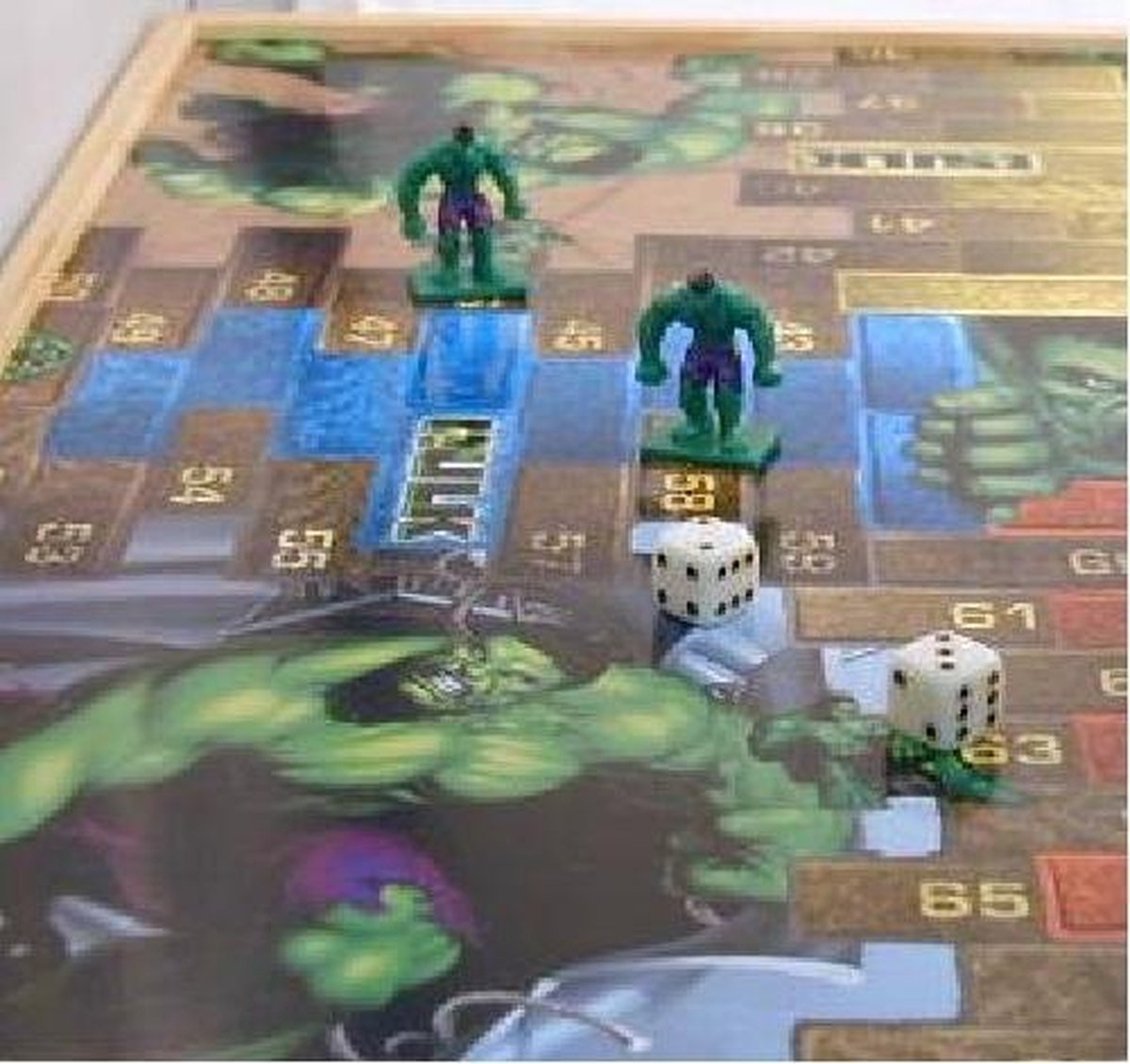 Bordspel Marvel Hulk verzamelitem (Spaans)