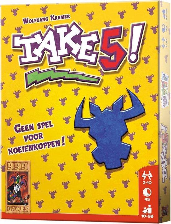Afbeelding van Take 5! Kaartspel speelgoed