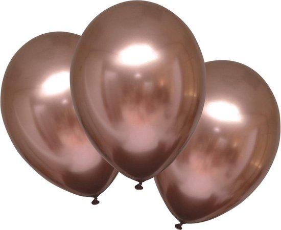 Amscan Ballonnen Metallic 27,5 Cm Latex Koper 6 Stuks