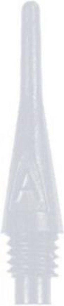 Bull's Axx Short Softtips (2ba) 20,7 / 6 Mm Wit 1000 Stuks