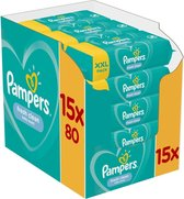 Pampers Fresh Clean Billendoekjes - 1200 stuks