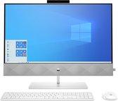 HP Pavilion 27-d0001nd - Intel Core i5 (10th gen) - 8 GB - 1256 GB HDD+SSD - Alles-in-één-PC - Wit