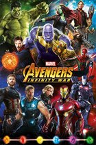 AVENGER INFINITY WAR - Poster 61X91 - Characters