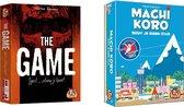 Spellenbundel - Kaartspel - 2 stuks - The Game & Machi Koro Basisspel