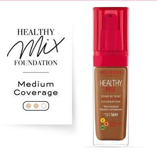 Bourjois Healthy Mix Foundation - 63 Cocoa