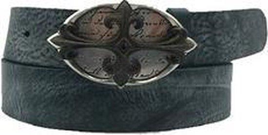 Blauwe riem - Soft Bom Foggy Jeans  Dames riem - Broekriem Dames - Dames riem -  Dames riemen - heren riem - heren riemen - riem - riemen - Designer riem - luxe