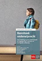 Boek cover Basisboek Onderwijsrecht. Editie 2020 van