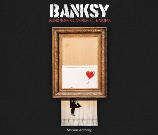 Boek cover Banksy van Marinus Anthony (Hardcover)