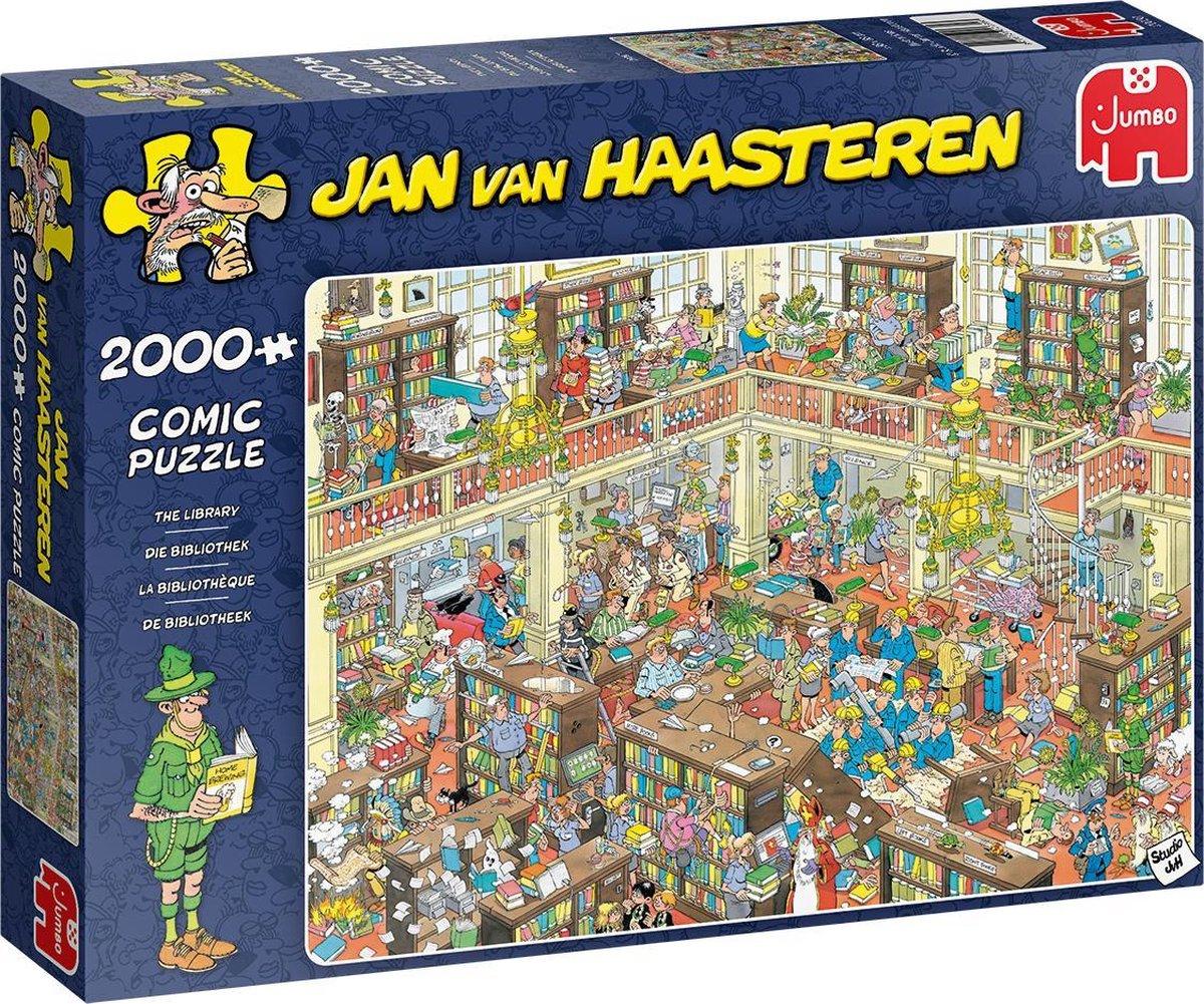 Jan van Haasteren De Bibliotheek puzzel - 2000 stukjes