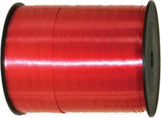 Folat Cadeaulint 250 Meter Polyester Rood