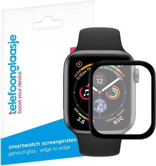 Apple Watch 4/5/6/SE screenprotector gehard glas - 44mm
