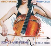 Wendy Sutter - Songs And Poems For Solo Cello/Tiss