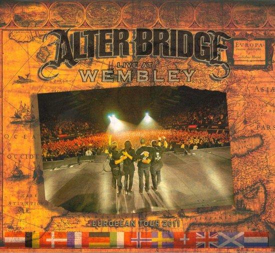 Cover van de film 'Alter Bridge - Live At Wembley'