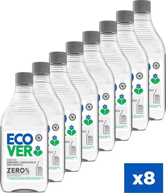Ecover ZERO Afwasmiddel - Voordeelpakket 8 x 450 ml