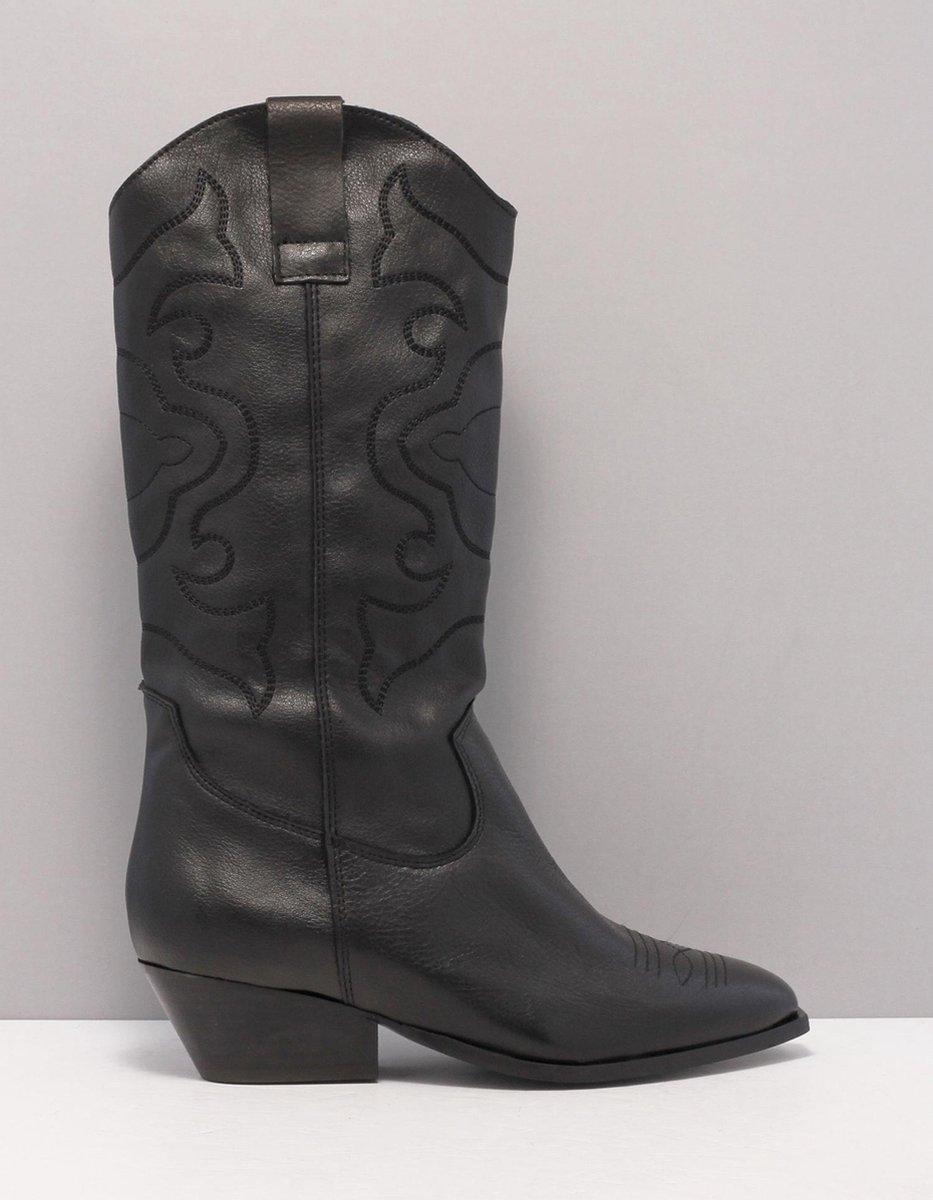 TANGO nina oblique 7 Enkellaarzen women Maat: 39 black a high black leather leather