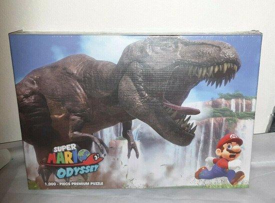 Afbeelding van het spel Super Mario Odyssey The Chase 1000 Piece Jigsaw Puzzle