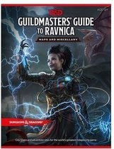 Dungeons & Dragons RPG Guildmasters' Guide to Ravnica - Maps & Miscellany *ANGLAIS*
