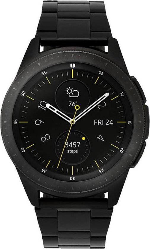 Samsung Galaxy Watch - Staal - Schakelband - Special Edition - 42mm - Zwart