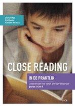 Close Reading in de praktijk Bovenbouw