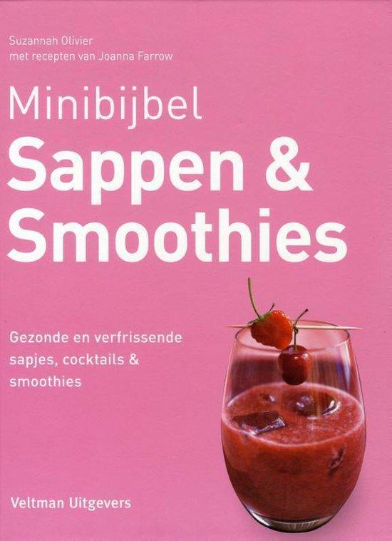 Cover van het boek 'Sappen & smoothies'