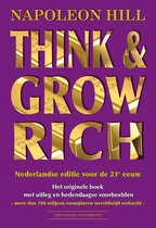Boek cover Think & Grow Rich van N. Hill (Paperback)