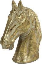 Decostar Ornament Paardenhoofd Karl 19 X 24 Cm Keramiek Goud