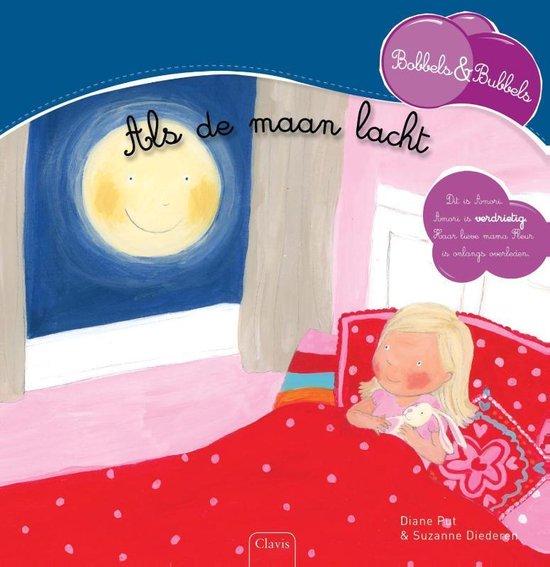 Boek cover Bobbels & Bubbels  -  Als de maan lacht Als de maan lacht van Diane Put (Hardcover)