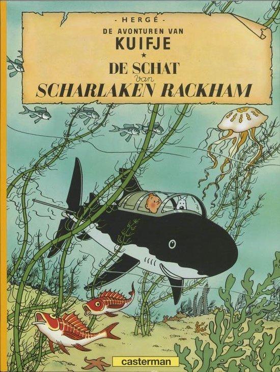 Kuifje 12. de schat van scharlaken rackham - Hergé
