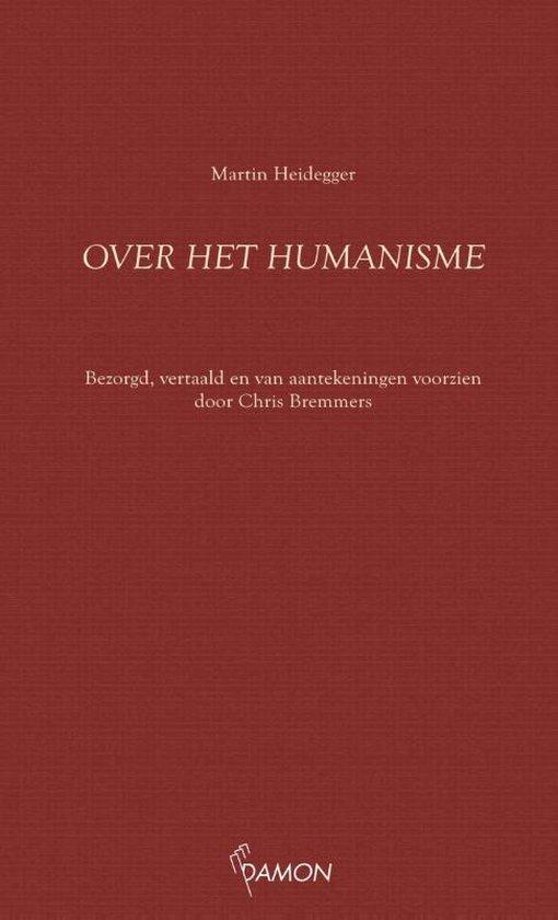 Boek cover Over het humanisme van Martin Heidegger (Paperback)