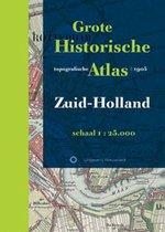 Boek cover Historische provincie atlassen  -  Grote Historische Topografische Atlas Zuid-Holland van Onbekend (Hardcover)