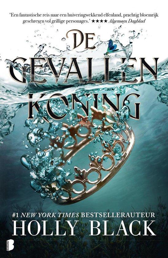 Boek cover De gevallen koning van Holly Black (Onbekend)