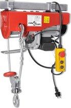 vidaXL Elektrische lier 1300 W 500/999 kg