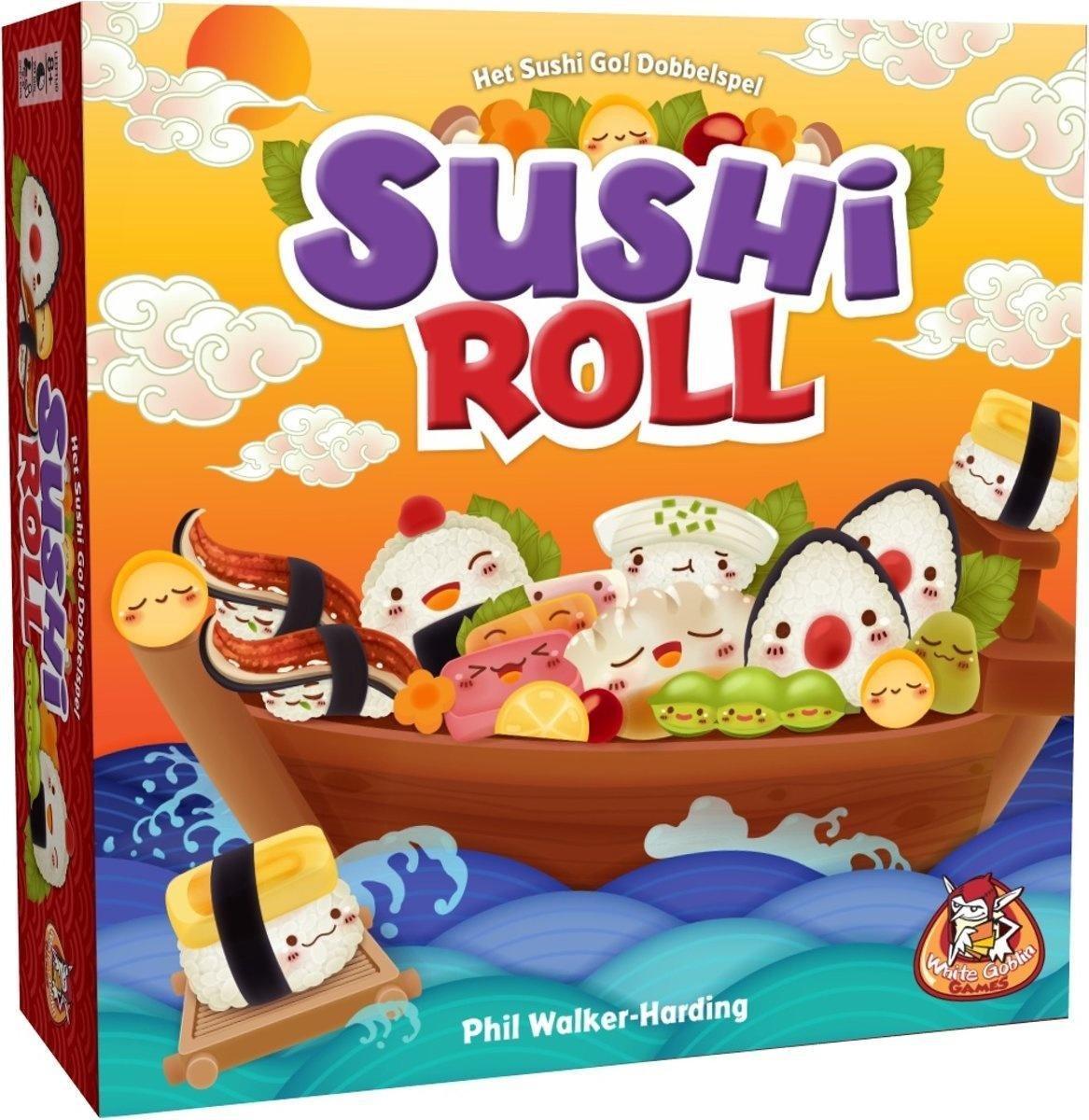 White Goblin Games Dobbelspel Sushi Roll (nl)