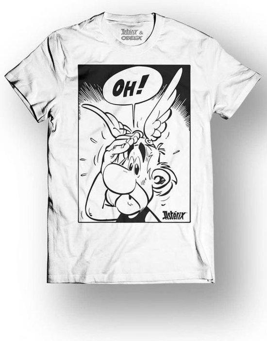 ASTERIX & OBELIX - T-Shirt - OH! - White (XL)