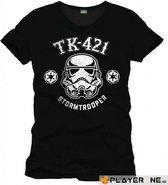 STAR WARS - T-Shirt TK-421 Trooper - Black (XL)