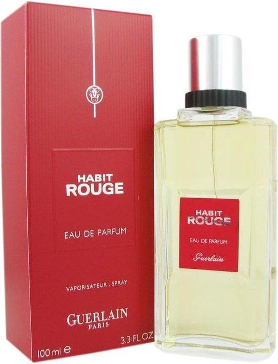 Bol Com Guerlain Habit Rouge Eau De Parfum Mannen 100 Ml