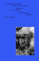 « …la plus grande oeuvre d'art pour le cosmos tout entier » : Stockhausen et le 11 septembre