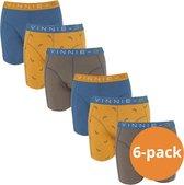 Vinnie-G Boys Kinder boxershorts Wakeboard 6-pack-152/158