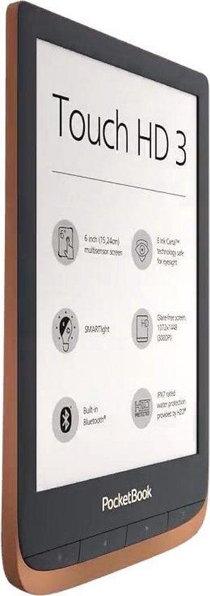 Touch HD 3 e-book reader Touchscreen 16 GB Wi-Fi Koper