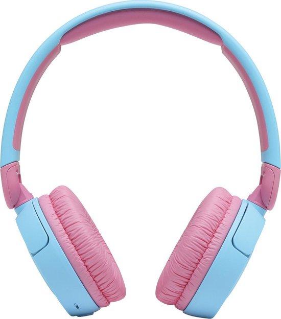 JBL JR310BT Kids - Blauw/Roze - Draadloze On-Ear Koptelefoon