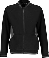 Bellaire Jongens vesten Bellaire Adam Full zip sweater jet black 110/116